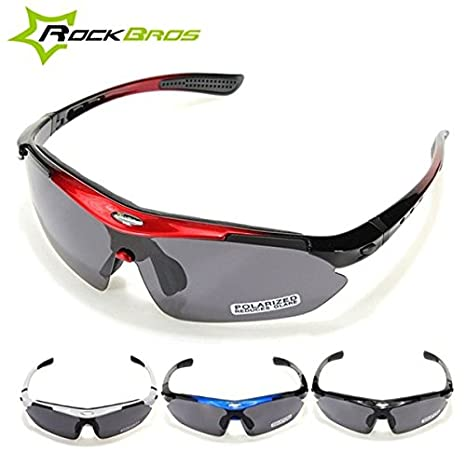 3661055e00 Image Unavailable. Image not available for. Color  C C Products RockBros  Polarized Cycling Bike Bicycle Sunglasses Glasses Goggles