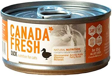 カナダフレッシュ キャット缶 ダックSAP 156g 24缶セット【総合栄養食】