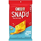 Cheez-It Snap'd, Cheesy Baked Snacks, Cheddar