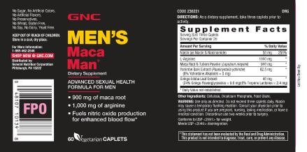 Maca man advanced sexual health formula for men