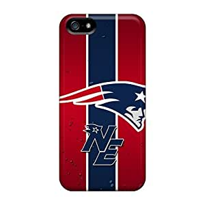 Elaney Iphone 5/5s Well-designed Hard Case Cover New England Patriots Protector