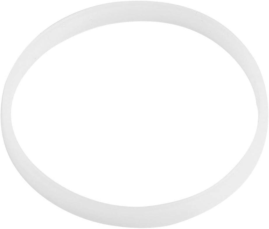 4 Pcs Rubber Gasket Sealing White O Ring Blender Gasket Replacement Parts for Ninja Juicer Blender (10 cm/3.94 inch)