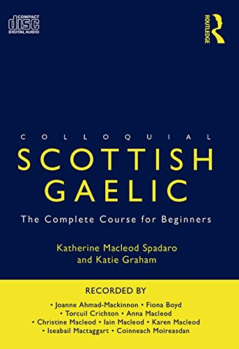 Colloquial Scottish Gaelic  Colloquial Series