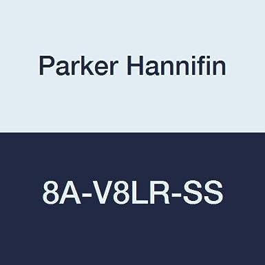Parker Valve 8Z-V8LR-SS 1//2 316 Stainless Steel Needle Valve 1//2 Compression Type Parker Hannifin