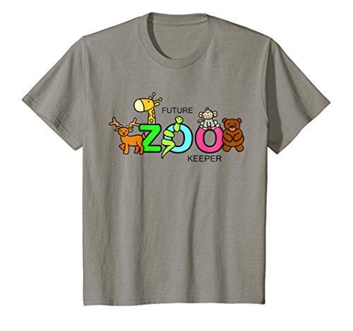 Kids FUTURE ZOO KEEPER Costume African Halloween Shirt Gift]()