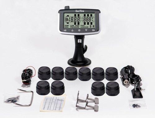EEZTire EEZ RV TPMS10 Tire Pressure Monitoring System   10 Sensors TPMS