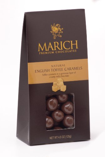 Marich English Toffee Caramels, - Marich Toffee