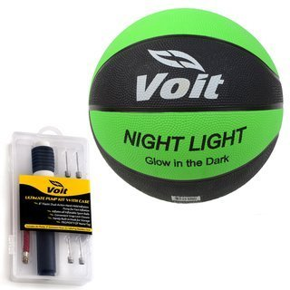 voit size 7 catch and shoot rubber basketball with ultimate