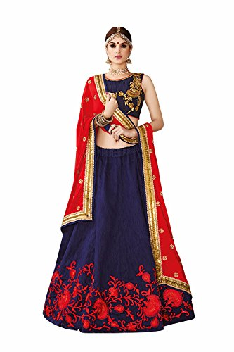 IWS Indian Women Designer Wedding Multicolor Lehenga Choli SS-2301
