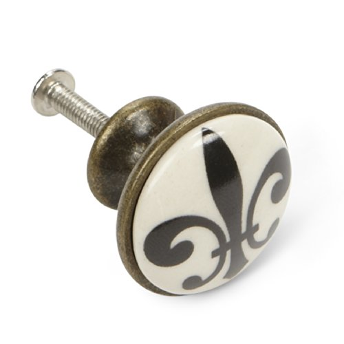 Abbott Collection Small Fleur De LYS Knob