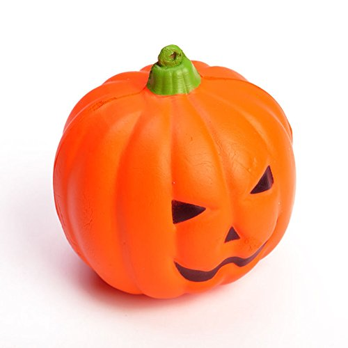 Aland Halloween Squeeze Scented Pumpkin Slow Rising Toy Stress Relief Kid Gift -
