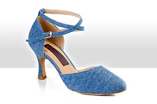 Tanzschuhe Exclusive VISBY Shoes Dance jeans 16wqXzWU