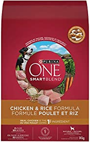 Purina ONE Smartblend Natural Dry Dog Food, Chicken & Rice 1
