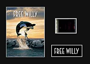 Free Willy (1993) 35mm Mounted Movie Film Cell