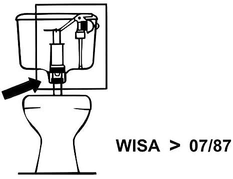 Gummi-Schwimmer-Membrane Wisa//Sanitop-Excl-Spülk.
