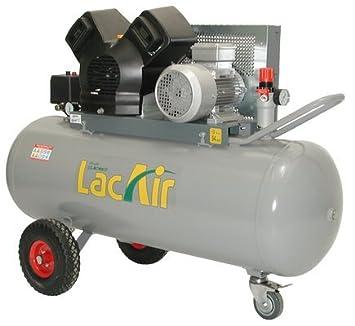 Lacme - Compresor de correa monoétagé trifásico 150 litros - 11 Bar: Amazon.es: Bricolaje y herramientas