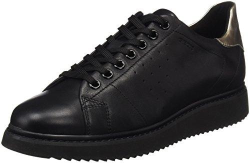 Geox para Mujer D Black a Thymar Black Zapatillas Negro 7w7Oqr