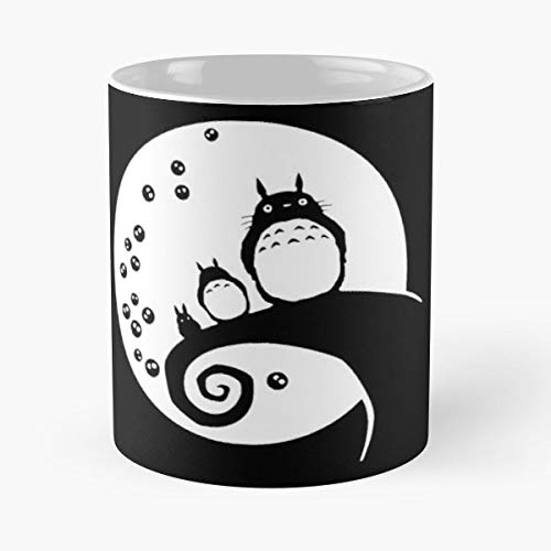 Totoro The Nightmare Before Christmas Crossover Movie - The Best Gift For Holidays Coffee Mugs