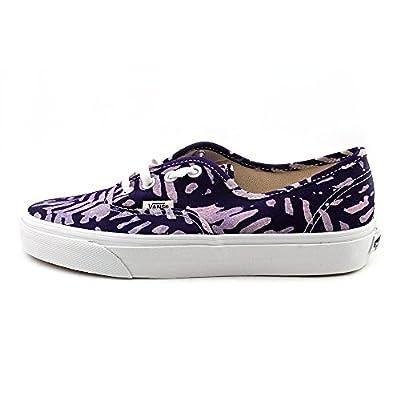 Vans Unisex Authentic Della Lace Up Sneakers-Batik/Multi-8.5