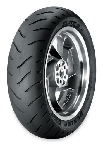 Dunlop Motorcycle Tire Rear Elite 3 Radial 200/50H-18 BW