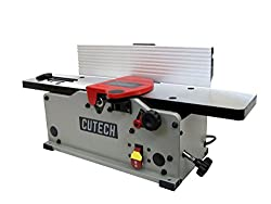 "Cutech 40160H-CT 6"" Bench Top Spiral Cutterhead Jointer"
