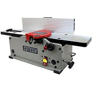 """Cutech 40160H-CT 6"""" Bench Top Spiral Cutterhead Jointer"""