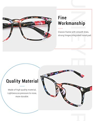 34f30db9168 Slocyclub Vintage Nerd Square Eyeglasses Frame Keyhole Design Non  Prescription Lens Glasses for Women Men