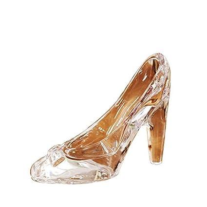 Leedioo La Cenicienta adornos de cristal creative zapatos de tacón Home  Furnishing salón decoración 231b947e5de2