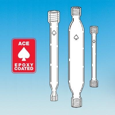 ACE GLASS 5795-10 Series Epoxy Coated Chromatography Column, 21 mm