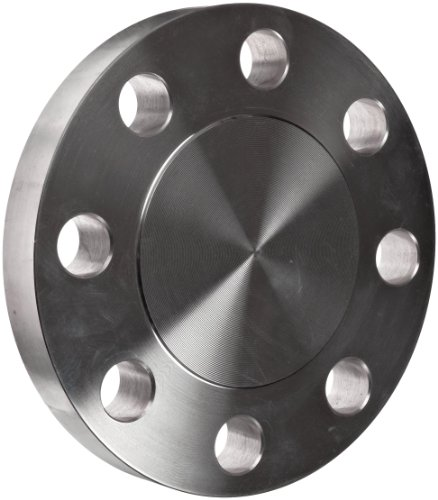 Stainless Steel 304/304L Pipe Fitting, Flange, Blind, Class 300, 6'' Pipe Size by Merit Brass
