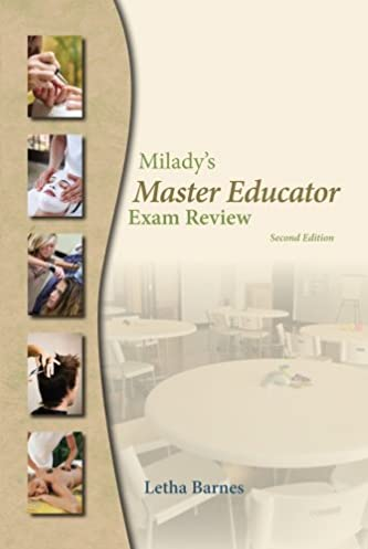exam review for milady s master educator milady 9781428321540 rh amazon com Textbook Instructor Manuals milady cosmetology instructor manual