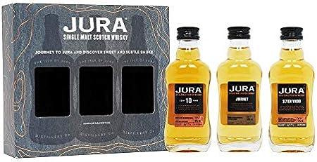 Jura Journey To Jura Mini Set 40.7% Vol. 3 x 0.05L In Giftbox - 150 ml