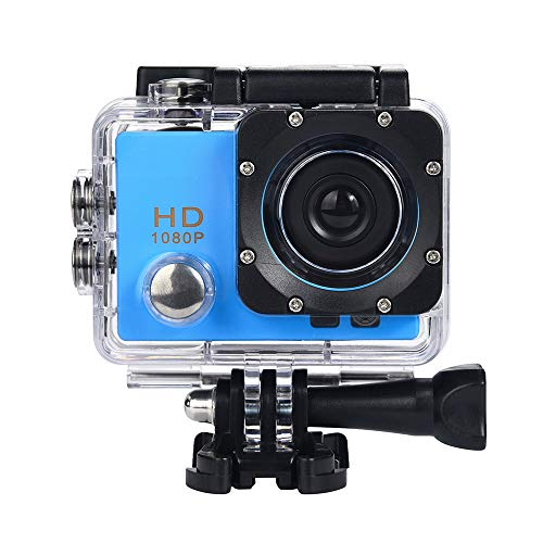 Wensltd Clearance! 2018 Waterproof Camera HD 1080P Sport Action Camera DVR Cam DV Video Camcorder (Blue)