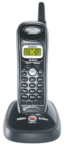 Uniden EXI7246C 2.4 GHz Analog Cordless Phone with Caller ID - Phone Ghz Id Caller Cordless