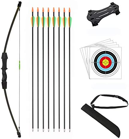 Childrens Archery Wildcat Kids Junior Recurve Bow and Arrow Fun Garden Set Game