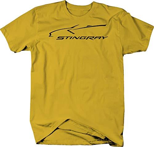 (OS Gear Chevy Corvette Stingray American 2015 2016 Racing Tshirt - XLarge)