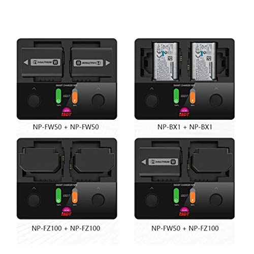 Wikiwand NP2 18W Mini Battery Charger DC Dual Independent Channel for Smart Sony Camera by Wikiwand (Image #5)