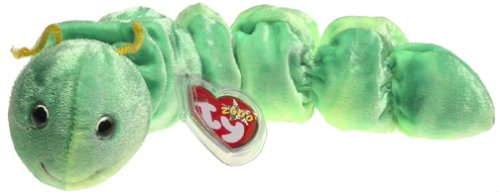 TY Beanie Baby - SQUIRMY the Worm Worms Animals