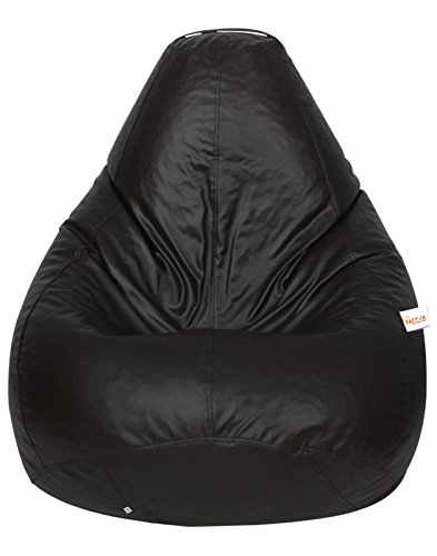 Sattva Classic Bean Bag Cover  Without Beans  XL Size   Brown