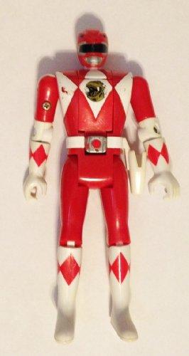 1993 Bandai Red Power Rangers Flip Head 5