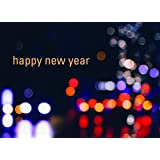 new year greeting cards n1504 greeting cards with happy new year on a night