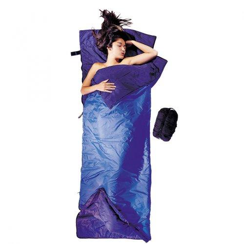 Cocoon Silk Tropic Traveler Sleeping Bag (Royal Blue, 86-Inch x 32-Inch)