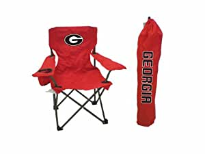 Rivalry NCAA Georgia Bulldogs Youth Folding Chair With Carrying Case