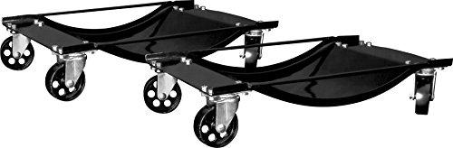 Performance Tool W54013 Tire Skates 2 Tire Wheel Car Dolly Ball Bearings Skate (1,000 lb capacity per Dolly)