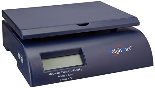 Weighmax Shipping Postal Scale, Blue (W-2822-35-BLUE)