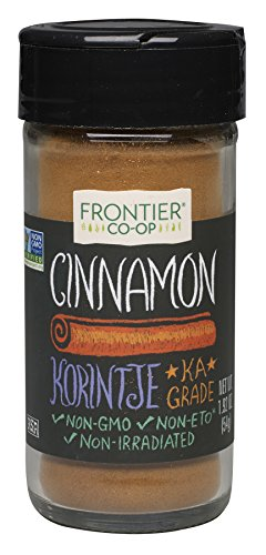 Frontier Cinnamon Ground, Korintje, 1.92-Ounce Bottle