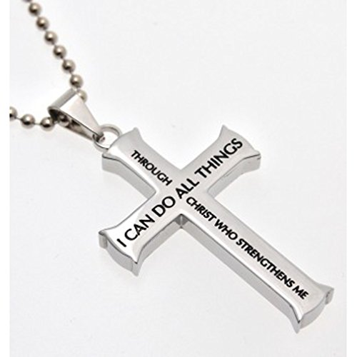 Front Cross Necklace - 5
