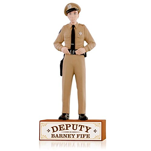 The Andy Griffith Show - Deputy Barney Fife Ornament 2015 Hallmark by Hallmark ()