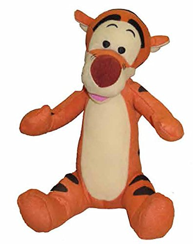 [Disney Tigger Baby Plush Stuffed Toy - 10 inch Orange Black White] (Daisy Duck Costumes For Toddlers)