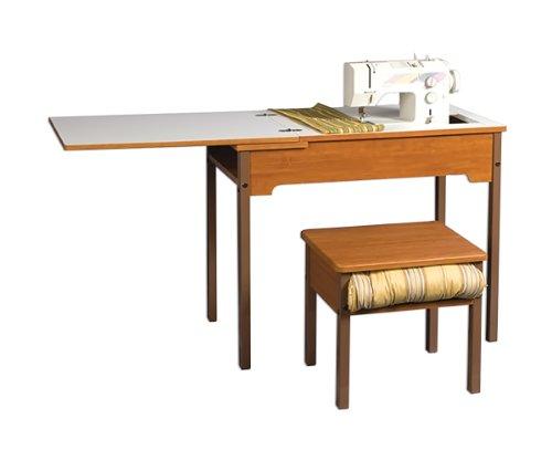 Model 472 Flatbed School Sewing Desk with Leaf School Desk w/Lf (for Flat Bed Machines - Fashion Lf